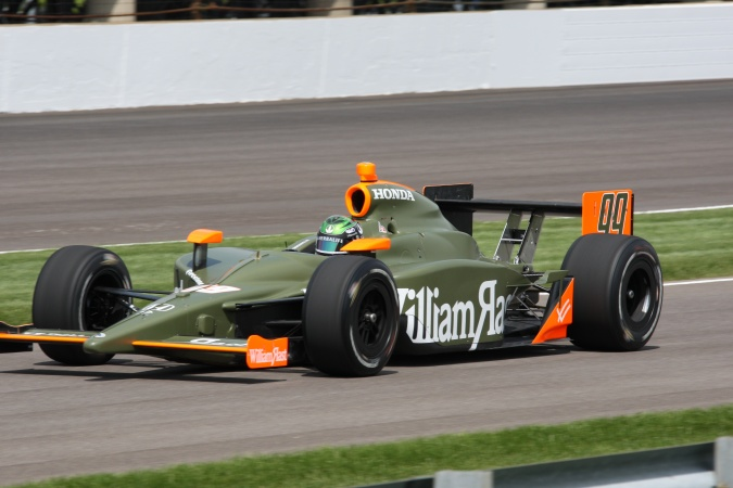 Photo: Townsend Bell - Dreyer & Reinbold Racing - Dallara IR-05 - Honda