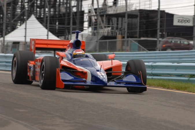 Photo: Ryan Briscoe - Dreyer & Reinbold Racing - Dallara IR-05 - Honda