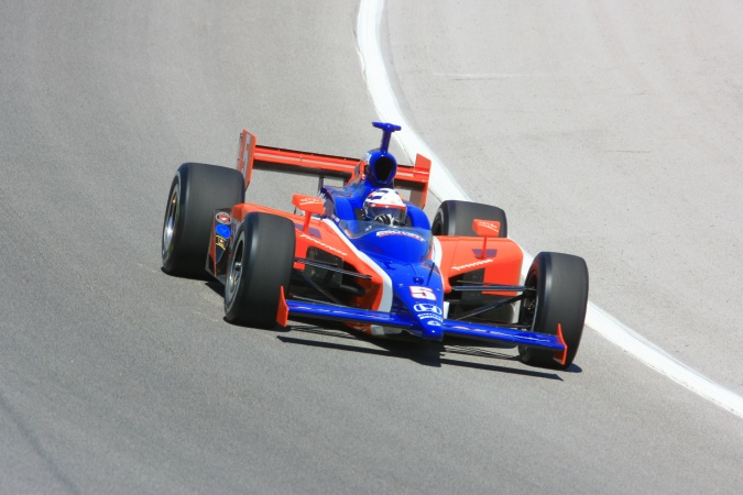 Photo: Buddy Lazier - Dreyer & Reinbold Racing - Dallara IR-05 - Honda