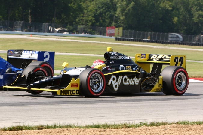 Photo: Simon Pagenaud - Dreyer & Reinbold Racing - Dallara IR-05 - Honda