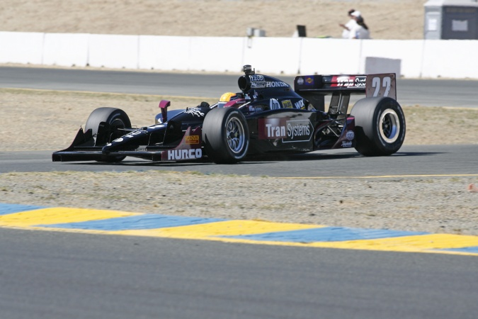 Photo: Giorgio Pantano - Dreyer & Reinbold Racing - Dallara IR-05 - Honda