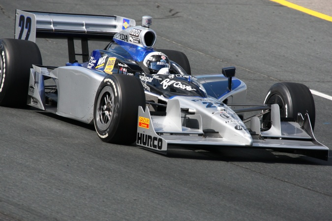 Photo: Tomas Scheckter - Dreyer & Reinbold Racing - Dallara IR-05 - Honda