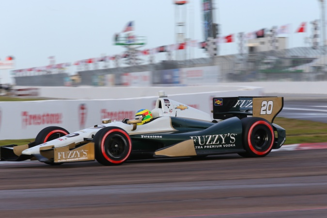Photo: Mike Conway - Ed Carpenter Racing - Dallara DW12 - Chevrolet