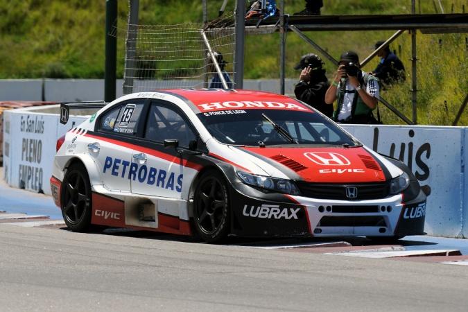 Jorge trebbiani psg16 team argentinian super tc 2012 for V8 honda civic