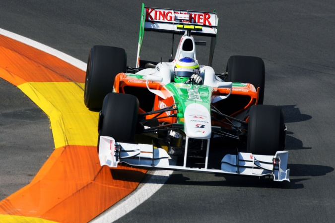 Photo: Giancarlo Fisichella - Force India - Force India VJM02 - Mercedes