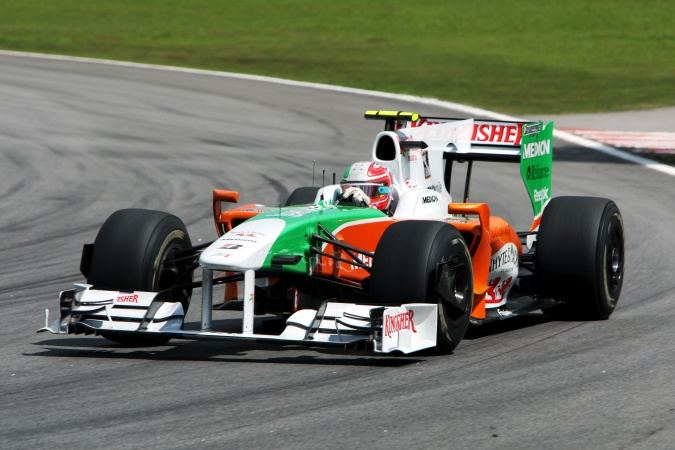 Photo: Vitantonio Liuzzi - Force India - Force India VJM02 - Mercedes