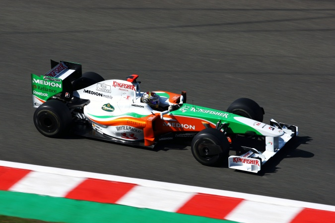 Photo: Adrian Sutil - Force India - Force India VJM02 - Mercedes