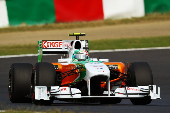 Photo: Vitantonio Liuzzi - Force India - Force India VJM03 - Mercedes