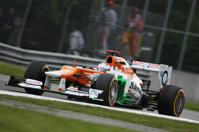 Photo: Paul di Resta - Force India - Force India VJM05 - Mercedes