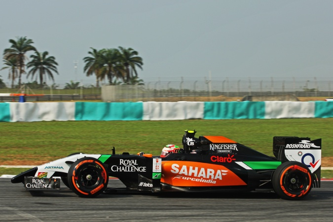 Photo: Sergio Perez Mendoza - Force India - Force India VJM07 - Mercedes
