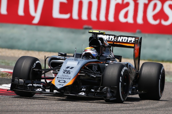 Photo: Sergio Perez Mendoza - Force India - Force India VJM08 - Mercedes