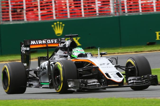 Photo: Nicolas Hülkenberg - Force India - Force India VJM09 - Mercedes