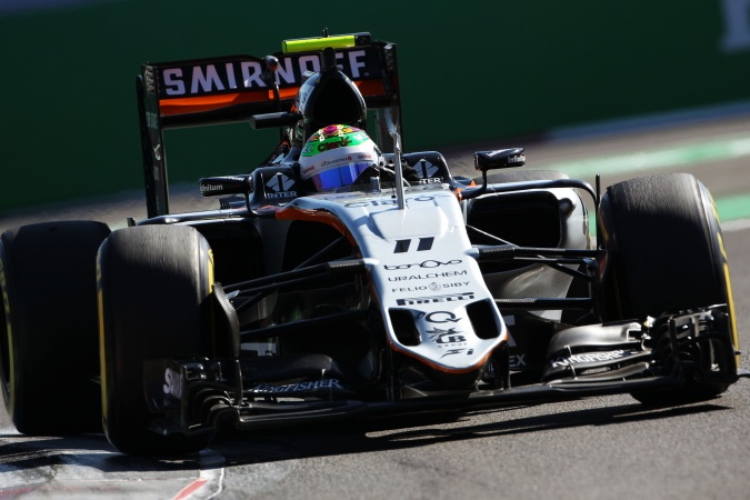 Photo: Sergio Perez Mendoza - Force India - Force India VJM09 - Mercedes