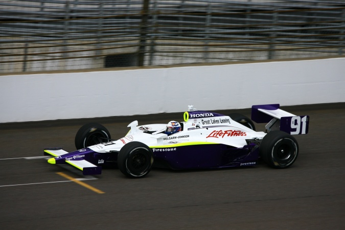 Photo: Buddy Lazier - Hemelgarn Johnson Motorsports - Dallara IR-05 - Honda