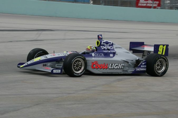 Photo: Buddy Lazier - Hemelgarn Racing - Dallara IR-02 - Chevrolet