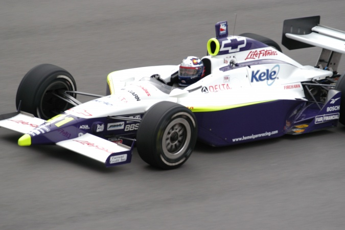 Photo: Buddy Lazier - Hemelgarn Racing - Dallara IR-03 - Chevrolet