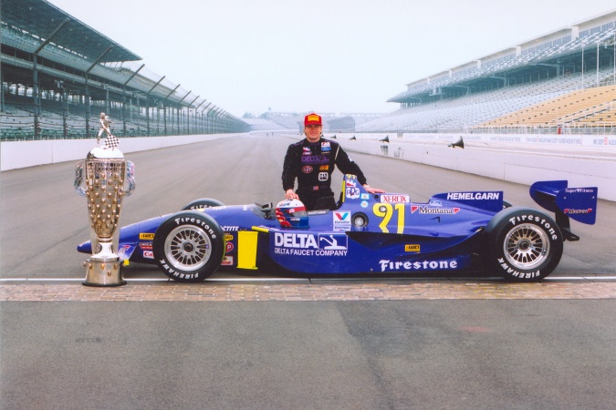 Photo: Buddy Lazier - Hemelgarn Racing - Reynard 95i - Ford