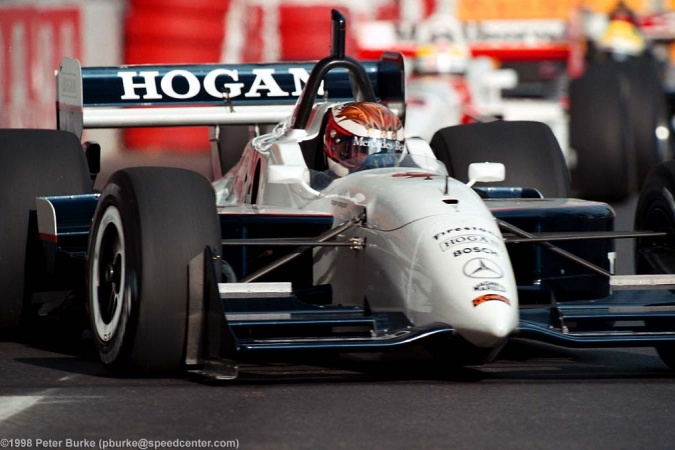 Photo: Jyrki Jarvi Lehto - Hogan Racing - Reynard 98i - Mercedes