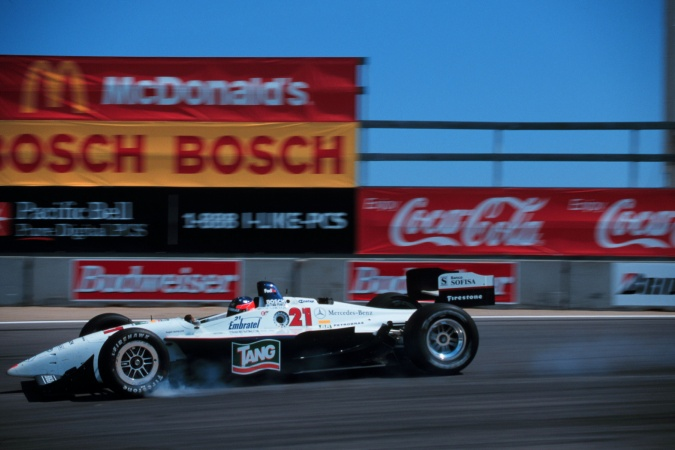 Photo: Luis Garcia jr. - Hogan Racing - Reynard 99i - Mercedes