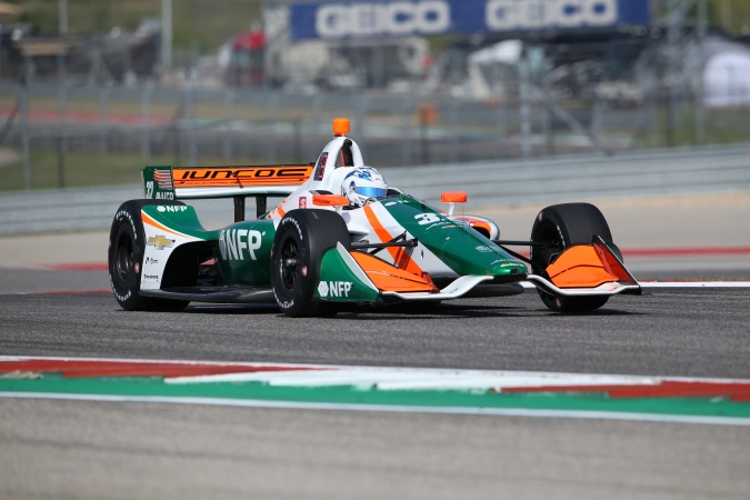 Photo: Kyle Kaiser - Juncos Racing - Dallara DW12 - Chevrolet