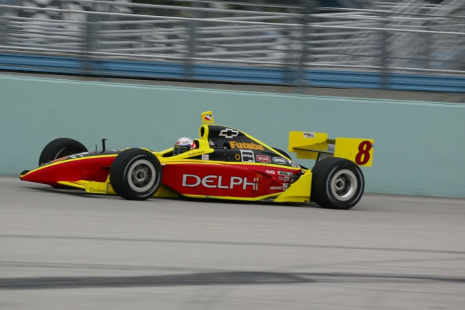 Photo: Scott Sharp - Kelley Racing - Dallara IR-02 - Chevrolet