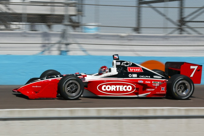 Photo: Al, jr. Unser - Kelley Racing - Dallara IR-02 - Chevrolet