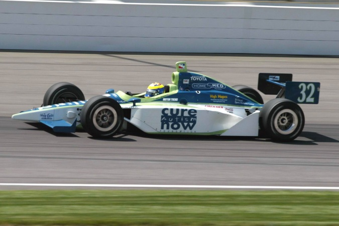 Photo: Tony Renna - Kelley Racing - Dallara IR-03 - Toyota