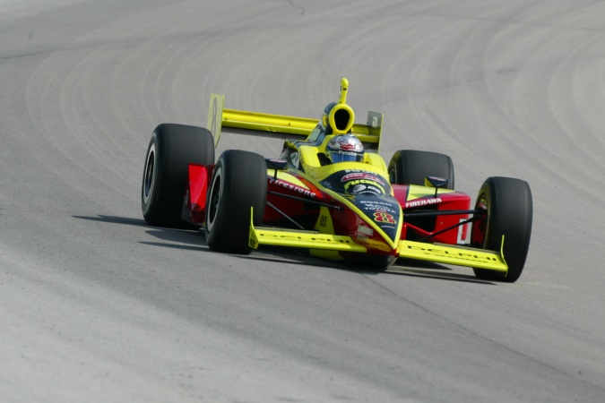Photo: Scott Sharp - Kelley Racing - Dallara IR-03 - Toyota