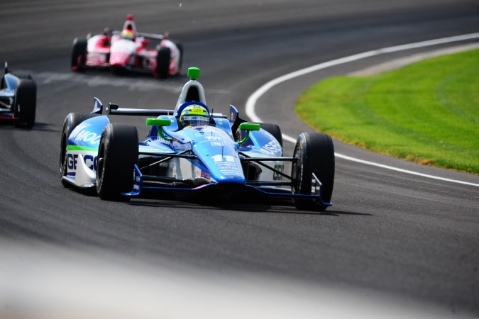 Photo: Tony Kanaan - KV Racing Technology - Dallara DW12 - Chevrolet