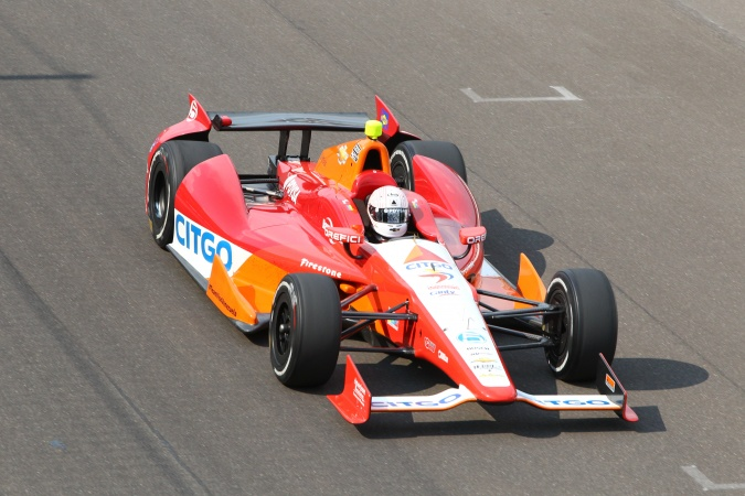 Photo: Ernesto Jose Viso - KV Racing Technology - Dallara DW12 - Chevrolet