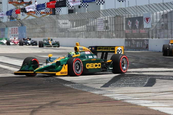 Photo: Tony Kanaan - KV Racing Technology - Dallara IR-05 - Honda