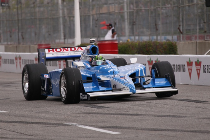 Photo: Paul Tracy - KV Racing Technology - Dallara IR-05 - Honda