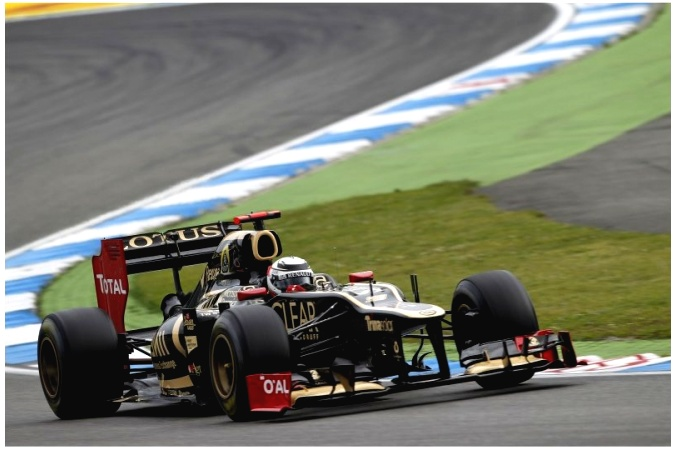 Photo: Kimi Räikkönen - Lotus F1 Team - Lotus E20 - Renault