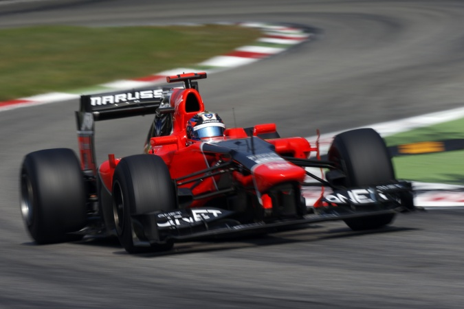 Photo: Timo Glock - Marussia F1 Team - Marussia MR01 - Cosworth