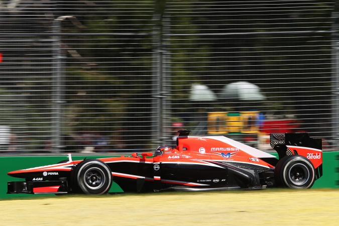 Photo: Jules Bianchi - Marussia F1 Team - Marussia MR02 - Cosworth