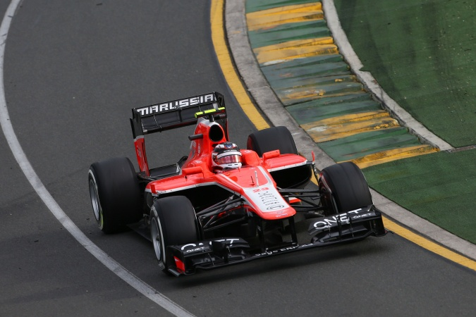Photo: Max Chilton - Marussia F1 Team - Marussia MR02 - Cosworth