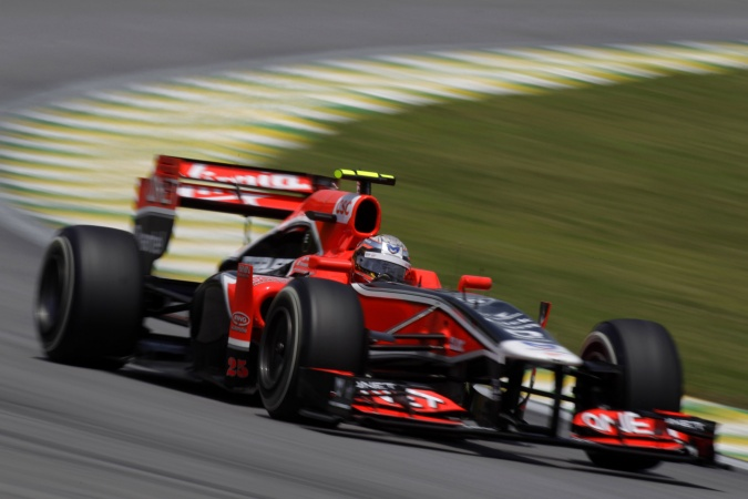 Photo: Jerome d'Ambrosio - Marussia Virgin Racing - Virgin MVR-02 - Cosworth