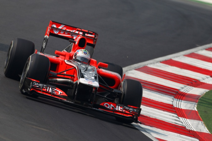 Photo: Timo Glock - Marussia Virgin Racing - Virgin MVR-02 - Cosworth