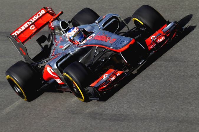 Photo: Jenson Button - McLaren - McLaren MP4-27 - Mercedes