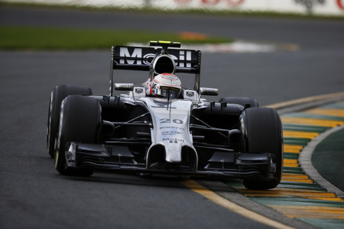 Photo: Kevin Magnussen - McLaren - McLaren MP4-29 - Mercedes