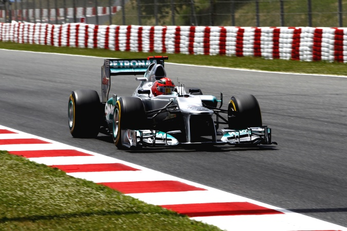 Photo: Michael Schumacher - Mercedes GP - Mercedes F1 W03