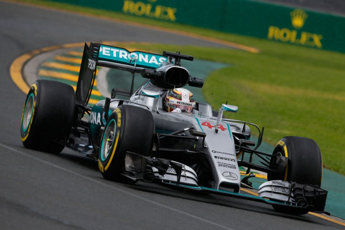 Photo: Lewis Hamilton - Mercedes GP - Mercedes F1 W07