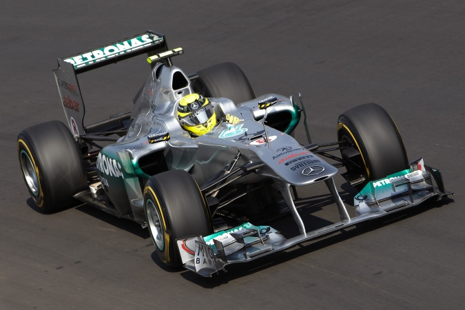 Photo: Nico Rosberg - Mercedes GP - Mercedes MGP W02