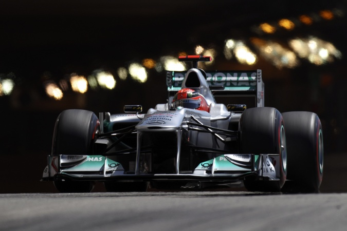 Photo: Michael Schumacher - Mercedes GP - Mercedes MGP W02