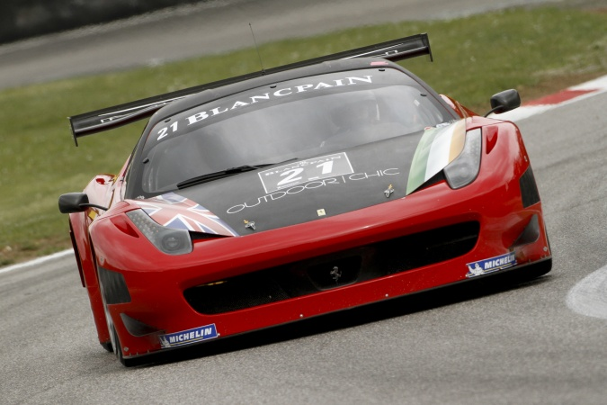 Mark Patterson United Autosports Blancpain Endurance