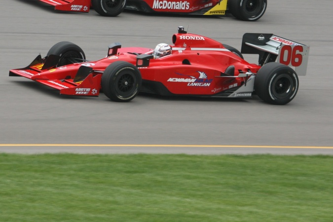 Photo: Robert Doornbos - Newman/Haas/Lanigan Racing - Dallara IR-05 - Honda
