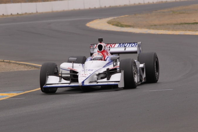 Photo: Hideki Mutoh - Newman/Haas/Lanigan Racing - Dallara IR-05 - Honda