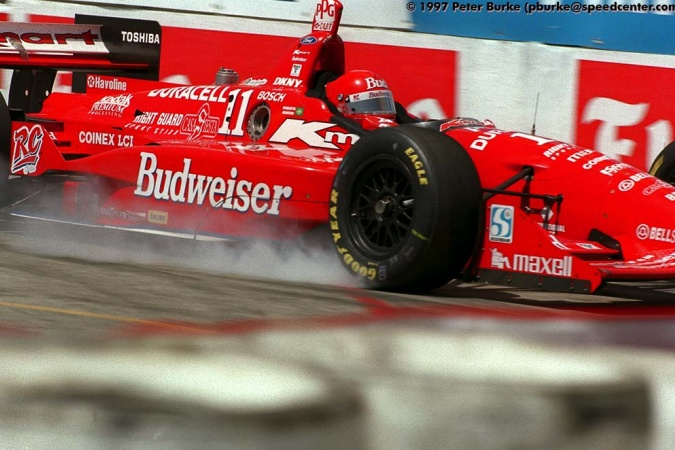 Photo: Roberto Moreno - Newman/Haas Racing - Swift 007.i - Ford