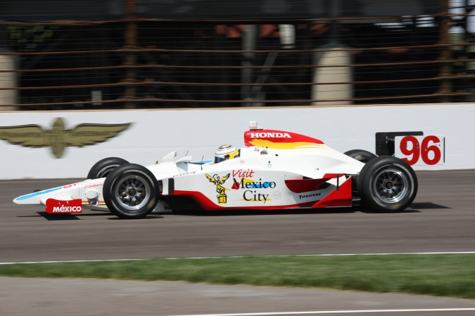 Photo: Mario Dominguez - Pacific Coast Motorsports - Dallara IR-05 - Honda
