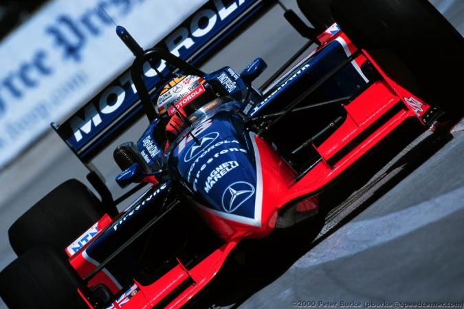 Photo: Mark Blundell - PacWest Racing - Reynard 2Ki - Mercedes